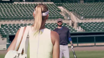Head Instinct TV Spot, 'Baseball' Featuring Maria Sharapova, Novak Djokovic - Thumbnail 2