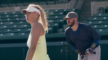 Head Instinct TV Spot, 'Baseball' Featuring Maria Sharapova, Novak Djokovic - Thumbnail 8