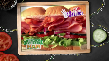 Subway $3 Six-Inch Select TV Spot, 'Oven Roasted Chicken' - Thumbnail 10