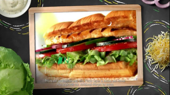 Subway $3 Six-Inch Select TV Spot, 'Oven Roasted Chicken' - Thumbnail 5