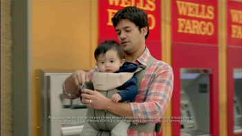 Wells Fargo TV Spot, 'Daddy's Day Out with Baby' - Thumbnail 6