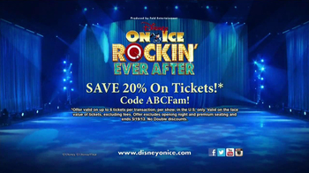 Disney On Ice Rockin' Ever After TV Spot, 'ABC Family: Save on Tickets' - Thumbnail 10