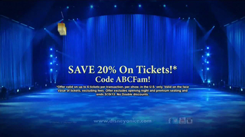 Disney On Ice Rockin' Ever After TV Spot, 'ABC Family: Save on Tickets' - Thumbnail 9