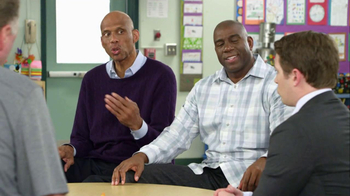 AT&T TV Spot, 'Faster in Basketball' Feat. Magic Johnson, Larry Bird - Thumbnail 3