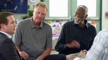 AT&T TV Spot, 'Faster in Basketball' Feat. Magic Johnson, Larry Bird - Thumbnail 5
