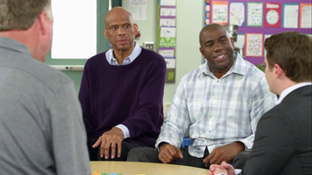 AT&T TV Spot, 'High Fives' Feat. Magic Johnson, Larry Bird - Thumbnail 3