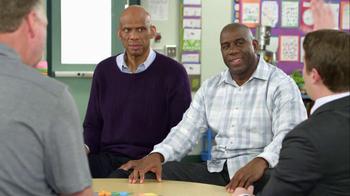 AT&T TV Spot, 'High Fives' Feat. Magic Johnson, Larry Bird - Thumbnail 4