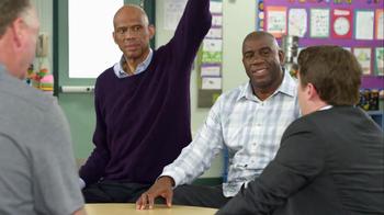 AT&T TV Spot, 'High Fives' Feat. Magic Johnson, Larry Bird - Thumbnail 7