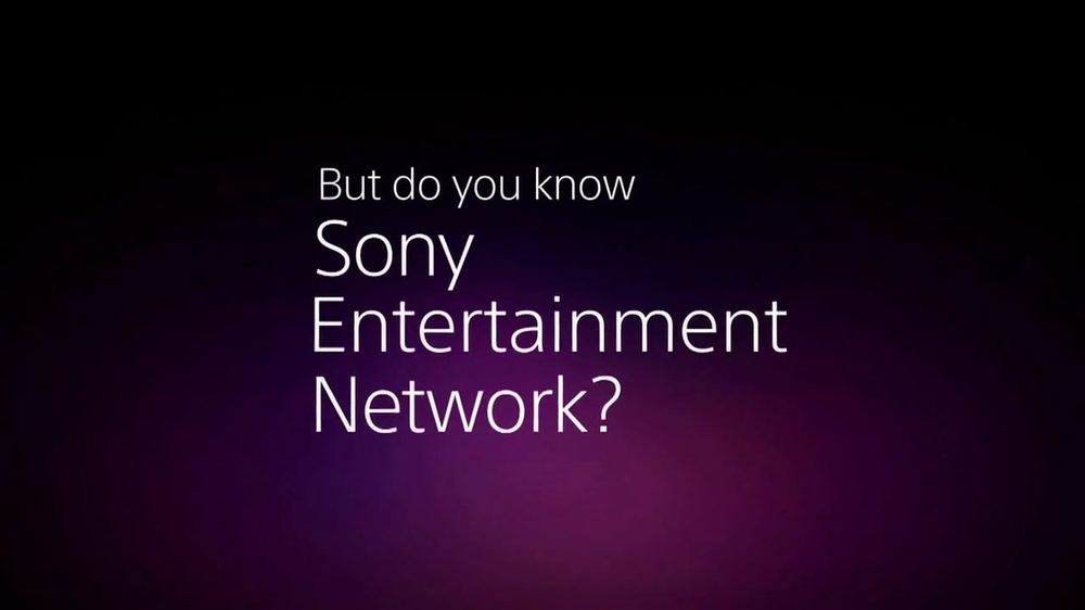 Sony Entertainment Network TV Commercial - Video