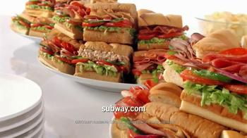 Subway Catering TV Spot - Thumbnail 10