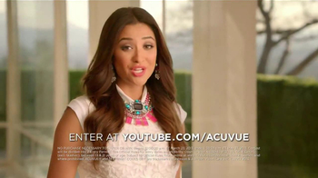 ACUVUE 1-Day Contest TV Spot, 'Big Break' Featuring Shay Mitchell - Thumbnail 3