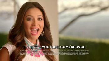 ACUVUE 1-Day Contest TV Spot, 'Big Break' Featuring Shay Mitchell - Thumbnail 4