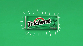 Trident Spearmint TV Spot, 'Skinny Dipping' - Thumbnail 1