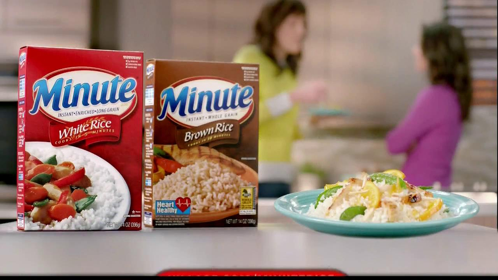 Ivillage Tv Commercial Minute Rice Featuring Chef Katie Workman Ispot Tv
