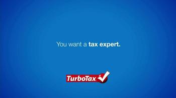 TurboTax TV Spot, 'Tax Expert' - Thumbnail 3