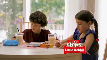 Little Debbie Oatmeal Creme Pies TV Spot, 'First Steps' - Thumbnail 1