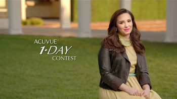 ACUVUE 1-Day Contest TV Spot, 'Inspire Others' Featuring Demi Lovato - Thumbnail 3