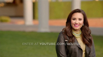 ACUVUE 1-Day Contest TV Spot, 'Inspire Others' Featuring Demi Lovato - Thumbnail 4