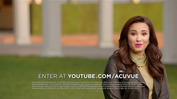 ACUVUE 1-Day Contest TV Spot, 'Inspire Others' Featuring Demi Lovato - Thumbnail 5
