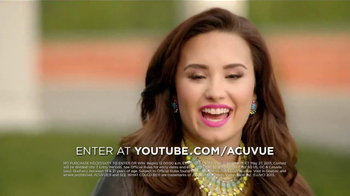 ACUVUE 1-Day Contest TV Spot, 'Inspire Others' Featuring Demi Lovato - Thumbnail 6
