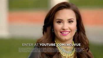 ACUVUE 1-Day Contest TV Spot, 'Inspire Others' Featuring Demi Lovato - Thumbnail 7