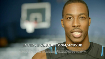 ACUVUE 1-Day Contest TV Spot, 'Big Break' Featuring Dwight Howard - 102 commercial airings
