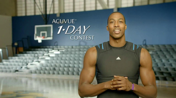 ACUVUE 1-Day Contest TV Spot, 'Big Break' Featuring Dwight Howard - Thumbnail 4