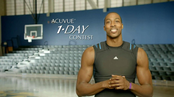 ACUVUE 1-Day Contest TV Spot, 'Big Break' Featuring Dwight Howard - Thumbnail 5