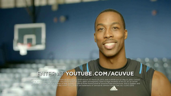 ACUVUE 1-Day Contest TV Spot, 'Big Break' Featuring Dwight Howard - Thumbnail 9