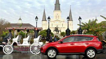 2013 Toyota RAV4 TV Spot, 'New Orleans' - 720 commercial airings