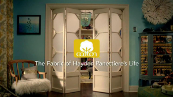 Cotton TV Spot, 'The Fabric of Hayden Panettiere's Life' - Thumbnail 1