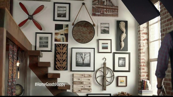 HomeGoods Industrial Mirror TV Spot, 'Wall' - Thumbnail 1