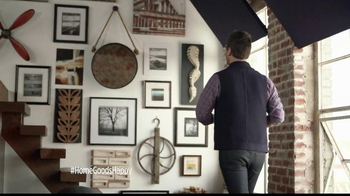 HomeGoods Industrial Mirror TV Spot, 'Wall' - Thumbnail 2