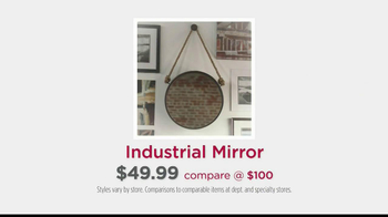 HomeGoods Industrial Mirror TV Spot, 'Wall' - Thumbnail 9