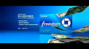 Chase Freedom TV Spot, 'We're Good' - Thumbnail 10