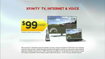 XFINITY TV, Internet and Voice TV Spot, 'Video Games' - Thumbnail 9