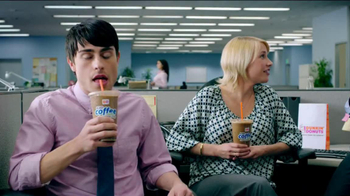 Dunkin' Donuts Iced Coffee Mint Chocolate Chip TV Spot, 'Ice Cream Time' - Thumbnail 1