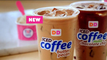 Dunkin' Donuts Iced Coffee Mint Chocolate Chip TV Spot, 'Ice Cream Time' - Thumbnail 10
