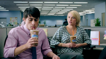 Dunkin' Donuts Iced Coffee Mint Chocolate Chip TV Spot, 'Ice Cream Time' - Thumbnail 2