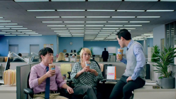 Dunkin' Donuts Iced Coffee Mint Chocolate Chip TV Spot, 'Ice Cream Time' - Thumbnail 6