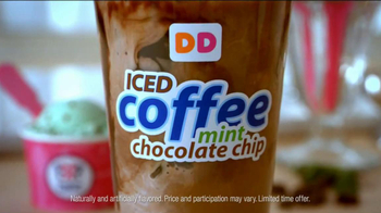 Dunkin' Donuts Iced Coffee Mint Chocolate Chip TV Spot, 'Ice Cream Time' - Thumbnail 7
