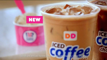 Dunkin' Donuts Iced Coffee Mint Chocolate Chip TV Spot, 'Ice Cream Time' - Thumbnail 9