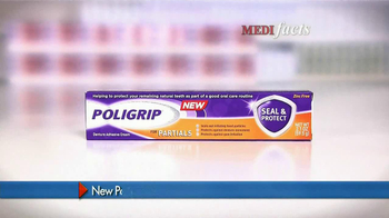 PoliGrip for Partials TV Spot, 'MediFacts: Seal and Protect' - Thumbnail 4