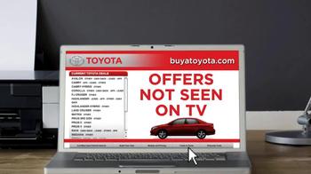 Toyota Buyatoyota.com TV Spot - Thumbnail 5