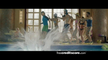 FreeCreditScore.com TV Spot, 'Pool Party' - Thumbnail 5