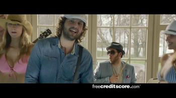 FreeCreditScore.com TV Spot, 'Pool Party'