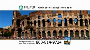 Collette Vacations TV Spot, 'Travel the World'