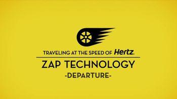 Hertz TV Spot, 'Zap Returns' Featuring Owen Wilson - 156 commercial airings