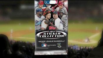 Topps 2013 Sticker Collection Major League Baseball TV Spot