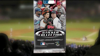 Topps 2013 Sticker Collection Major League Baseball TV Spot